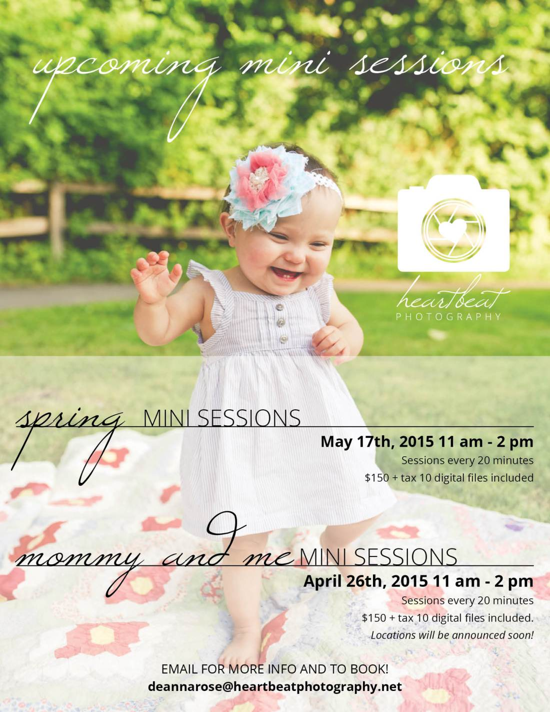 spring-mini-sessions